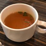 とたん屋 - スープは別途+20円で注文可能