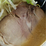 真龍 - 2017年3月 味噌ラーメン 530円(税込)チャーシューアップ