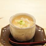 すし宮川  - ☆帆立の茶碗蒸し