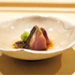 すし宮川  - ☆しめ鯖の藁焼き