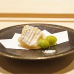 すし宮川  - ☆太刀魚の天麩羅と銀杏