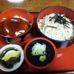 小角食堂 - あんかけミニかつ丼セット