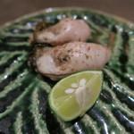 73609102 - 29年9月 北海道昆布森漁港仙鳳趾牡蠣 黒七味