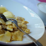中国料理 翔 - 山藥炒肉片(ながいもとぶたにくいため)