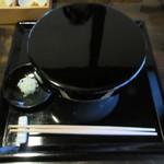 73610935 - かけ蕎麦(着丼時)