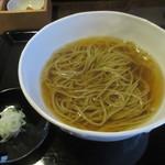 73610944 - かけ蕎麦(食用時)