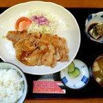 KITCHENひろ - ポークジンジャー定食