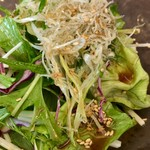 華陽麺坊 - じゃこサラダ(¥450)