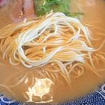 鶴亀堂 - 麺(バリ)