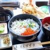 しらす食堂 - 料理写真:2017年7月 しらす・いくら3色御膳【1700円】