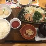 ガスト - 料理写真:チキン竜田膳