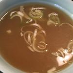 73616401 - チャーハンのスープ