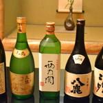 ほり川 - 日本酒は大分の酒のみに限定
