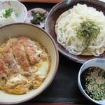 うどんの小町 - 【ざるセット 770円】(ざるうどん+ミニ丼)