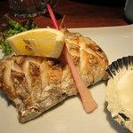 大入亭 - 太刀魚の塩焼き