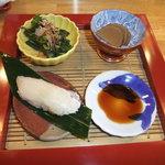 小食堂 みずき一丁目 - 料理写真:おまかせ¥2700の前菜