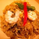 チャンパーカフェ - 味噌風味の炒飯