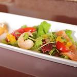 プチボヌール - 料理写真:パスタランチのサラダ
