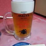 73627441 - 生ビール 横綱級ジョッキ