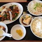 台湾料理 福来順 - 料理写真:酢豚ランチ