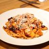 セミーナ - 料理写真:☆余市産 茄子のトマトソースのスパゲッティ1400円