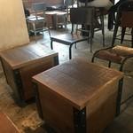 ラテスト - 小テーブルと椅子
