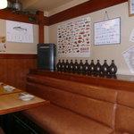 魚海船団 - 店内は広いです。