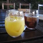 ラッテリア ベベ  カマクラ - カフェ:オレンジジュース / アイスティ―