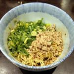 73630959 - ミニ 汁なし担々麺(3辛)