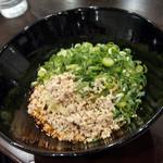 73630964 - 汁なし担々麺(25辛)