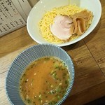 ラーメン 三五十五 - 辛味噌つけ麺750円