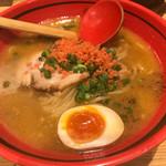 73632346 - 【2017.9.9】えびみそ そのままみそ太麺¥780