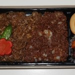 肉の大山 - 牛肉弁当950円