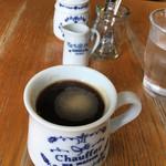 73633894 - セットのホットコーヒー