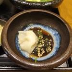 73634981 - ランチ:あったかスープ御膳 季節野菜の鶏スープ 水餃子