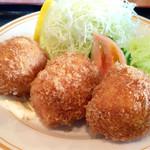 さんか亭 - 料理写真:カニクリームコロッケ