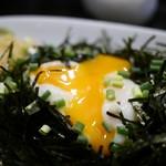 うどん sugita - トロ~り温玉