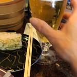 廻る富山湾 すし玉 - 生ビール♪