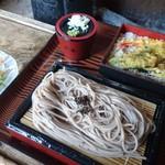 三春茶屋 - 茶屋娘セットのざるそばとミニ天丼