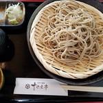 十六文亭 - 料理写真:せいろ
