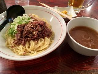 シマシマトム - つけ麺