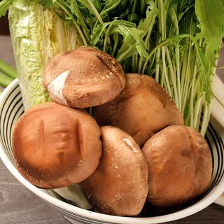 豚しゃぶの決め手は『薬味』と『お野菜一式』