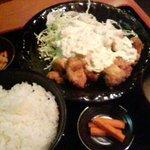 Kimurayahonten - 鶏南蛮定食の全景