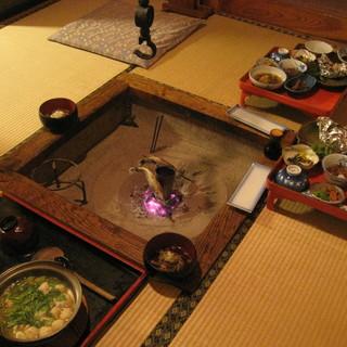 鶴の湯温泉 - 料理写真:夕食