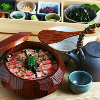 一頭買い近江牛の贅沢肉ランチ!!