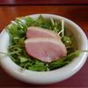 歳一六 - 料理写真:鴨燻と三つ葉のサラダ