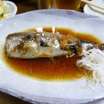 笹新 - いわし煮付け 525円