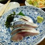 笹新 - 〆鯖 630円