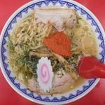 赤湯ラーメン 龍上海 - 真上から