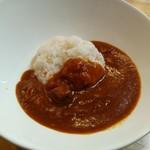デリシャストマトファームカフェ - トマトカレー(750円※税別)